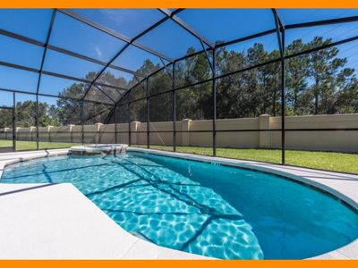 Photo for Sonoma Resort 7 - Immaculate villa with huge private pool near Disney