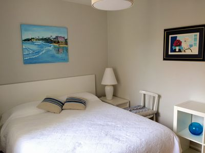 Photo for Appt 3 p bright, hyper center 5min walk from the Grande Plage and the market