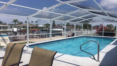 Photo for Sea our Paradise and live on the Gulf of Mexico with your own heated pool & boat