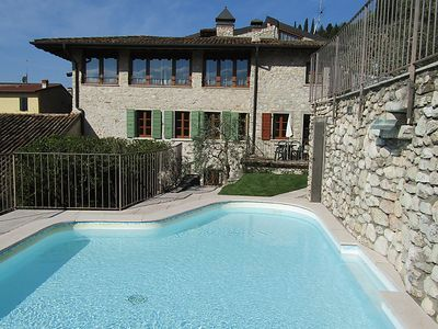 Photo for One bedroom Apartment, sleeps 4 in Toscolano-Maderno with Pool, Air Con and WiFi