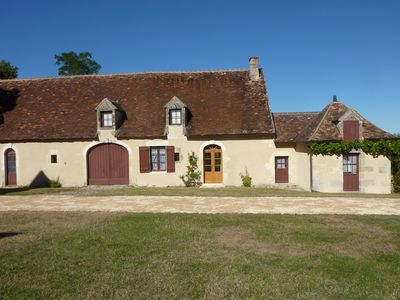 Photo for Charming house outbuildings castle near Loches