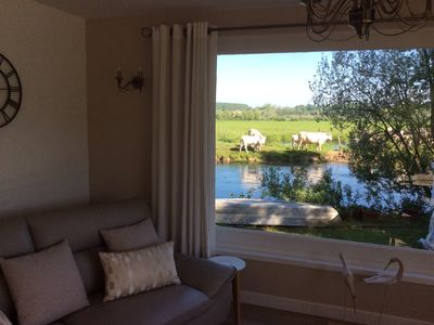 Photo for 2 ensuite bedrooms, a spacious, well appointed gite overlooking the River Authie