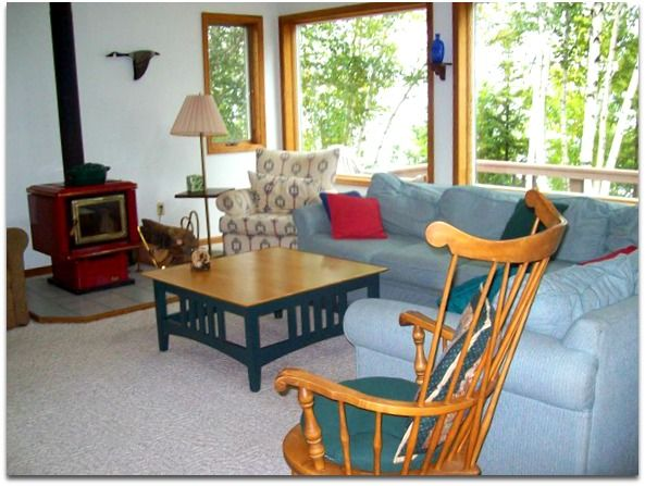 BIG MANISTIQUE LAKE HOUSE w/ boat dock & Pe... - HomeAway on