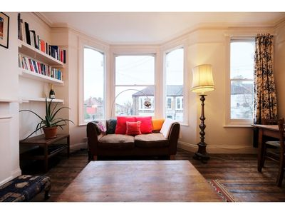 Photo for Sunny, Bohemian-style Flat For 4 in Queens Park