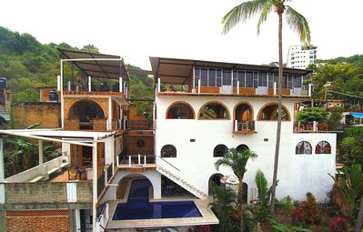 ocean side of the   hacienda