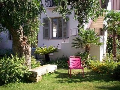 Photo for Charming house in the heart of Saint-Florent-Corsica, beautiful garden, parking.