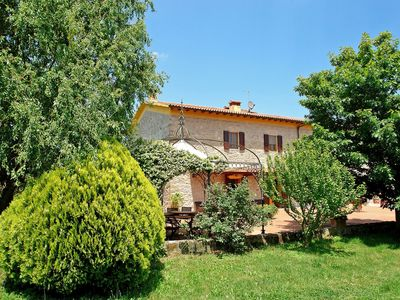 Photo for Stunning private villa with WIFI, private pool, TV, washing machine, pets allowed and parking