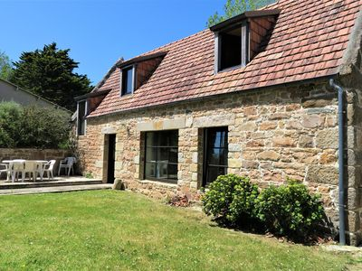 Photo for Lovely house breton 3* with WIFI, completely renovated at 800m sea in Tregastel