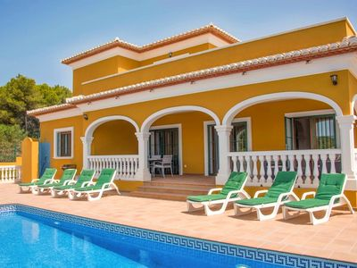 Photo for VILLA TESORO, JAVEA - 5 Bedrooms, Private Pool, WiFi, A/C, BBQ