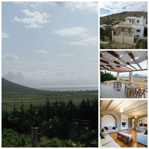 Photo for SEA VIEW VILLA  WITH NITROGEN SWIMMING POOL CLOSE TO NAOUSSA AND SURF BEACHES