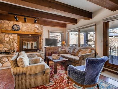 Photo for Mountain Views from this Plaza Condo - Sleeps 6