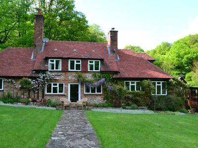 Photo for Large English Cottage, Near Henley-On-Thames, Nestled In Wooded Valley