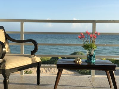 Photo for New and lovely ocean-front house in San Bruno, Yucatan