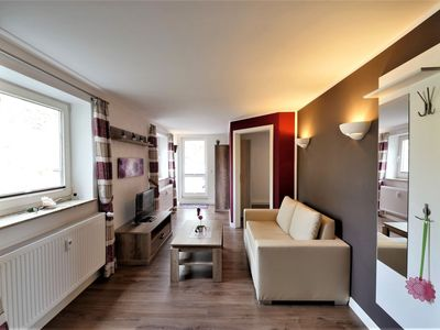 Photo for Modern Apartment by Ski Area in Elpe with Meadow View