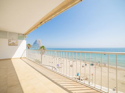 Photo for Apartment in Calpe 1st line beach - RIO