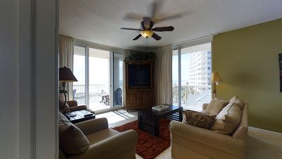 Photo for AMAZING Gulf Front Views with Spacious Corner Unit!