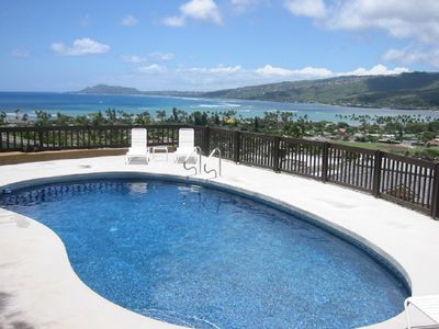Photo for Hale Ohana, Private, Oceanview home w/pool