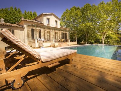Photo for Mas Provençal for 10 persons with heated pool