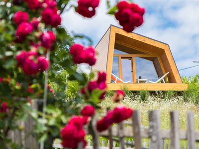 Photo for MOUTAIN VIEW ROMANTIC GLAMPING HUT VISOLE