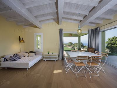 Photo for Country villa with pool and view of La Maddalena archipelago