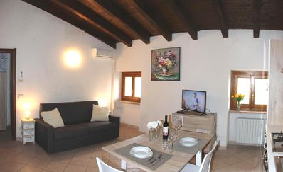Photo for Casa Laila - STUDIO APARTMENT (max 2 guests) in the old town center in BARDOLINO