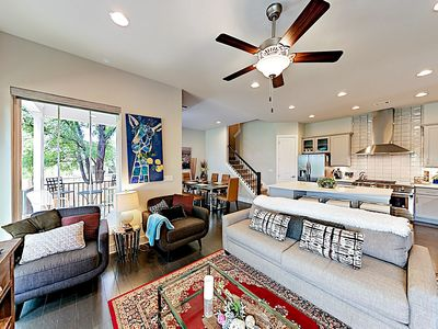 Photo for New Listing! Large Luxe Downtown Getaway w/ Gourmet Kitchen - Walk to Campus