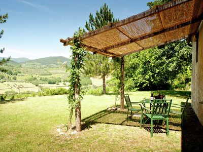 Photo for Part of renovated cosy farmhouse with breathtaking views, not far from Florence