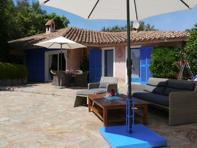 Photo for Rental Porto-Vecchio with swimming-pool, 3 bedrooms, 6 pers, 700m from beach