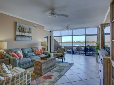 Photo for Water Views on Siesta Key, Wifi, Close to Beach, Listen to the Waves Splash Gently Against the Docks
