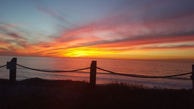 Sunset from the Solana Beach bluff