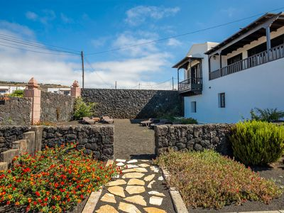 Photo for Holiday Apartment in Beautiful Canarian Home with Ocean Views, Patio, Garden & Wi-Fi; Parking Available