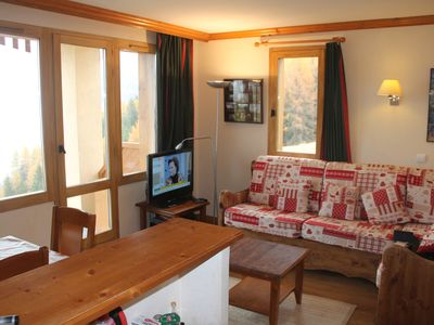 Photo for Les Coches-La Plagne: Spacious 3 rooms (6 people - 2 bathrooms) Montchavin foot track