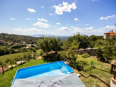 Photo for House with panoramic views to the sea, garden and exclusive private pool