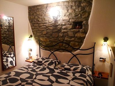 Photo for Pretty stone house with garden, 10 minutes from the cable car of Courmayeur