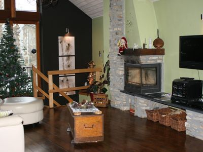 Photo for Very nice furnished apartment on the first floor of a charming village house