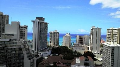 Photo for Beautiful 1 Bedroom Condo in Waikiki with an Ocean View