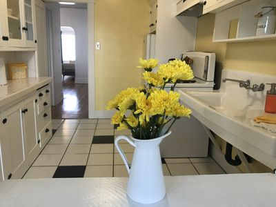 Photo for Huge Light Bright Vintage Flat-The Heart Of North Park - Restored Kitchen/Bath