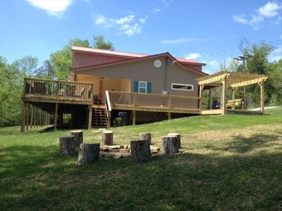 Photo for 5 Star Waterfront Peter Cave Retreat on Rough River Lake, Property #1 of 2