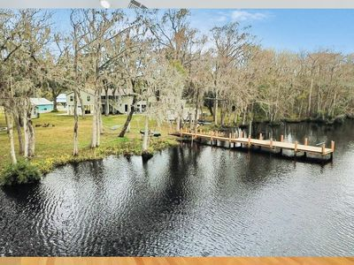 Photo for 15% OFF NEW POOL IN NOV. SLEEPS 16, 5 BOATS, WATERFRONT, PRIVATE, ALL NEW!