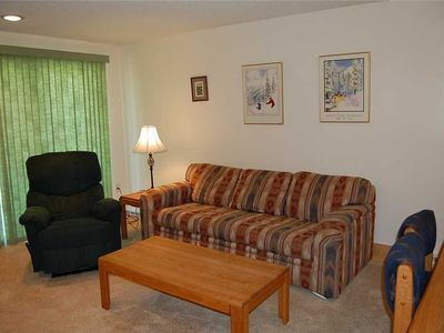 Photo for Renovated 2 bedroom condo with private patio providing mountain views.
