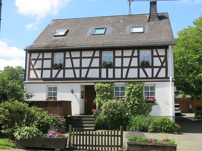 Photo for Holiday apartment in the Hunsrück farmhouse Family friendly Pets Wifi