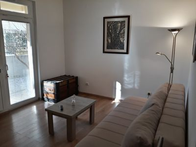 Photo for Bedroom apartment, close to the beach, modern look, family/couple-friendly