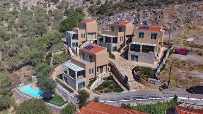 Photo for Ouzo Villas 2, Accessible 3BR villa at Ag. Isidoros, Plomari, Lesvos