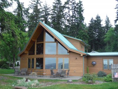 Photo for Beachfront Luxury on Case Inlet