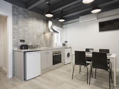 Photo for ⭐ New, Cute and Modern 2BR Flat near Camp Nou ⭐