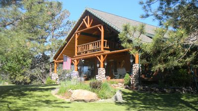 Photo for Beautiful Lodge-Style Home In The Heart Of South Dakota's Black Hills
