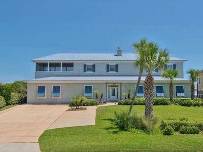 Photo for Fabulous Beachfront Home for Family Reunions/celebrations - Hot Tub & Fire Pit