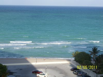 Photo for OCEAN FRONT BEACH  apt 1224