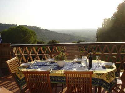 Terrazza Well Maintained Apartment In A Country House Garden Sea View 6 Km To The Sea Castagneto Carducci