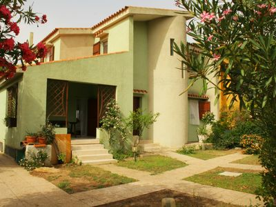 """Photo for Villa """"SAMA"""" 20 meters from the beach in Solanas"""